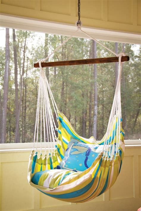 Fabric Hammock Pattern by Patio Hammock You Could Always Make This Yourself With