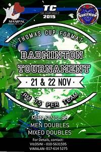Badminton, Tournament, Flyer