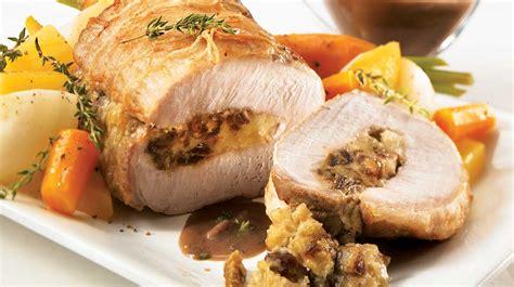 cuisiner longe de porc longe de porc aux dattes et au cheddar vieilli recettes
