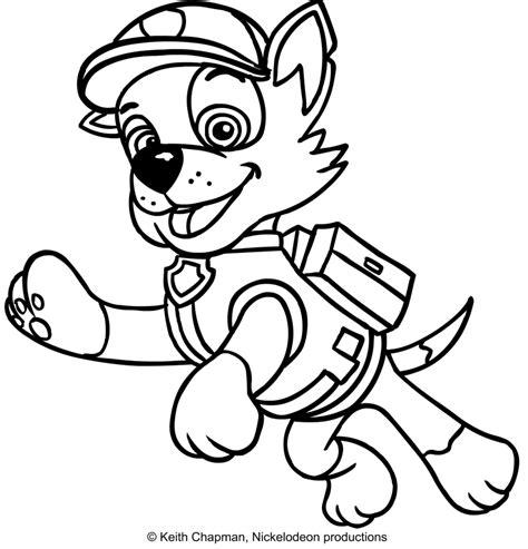 disegni da colorare paw patrol disegni da colorare cartone paw patrol migliori pagine