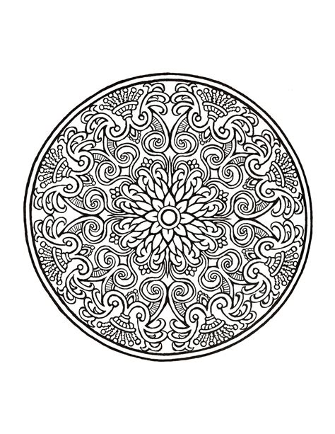 Mystical Mandala Coloring Book Dover