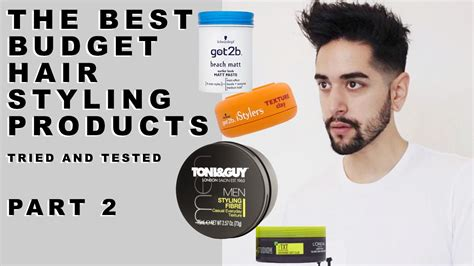 top mens hair styling products the best budget hair styling products for tried and