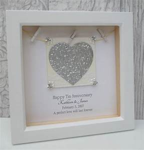10th anniversary gift 10th wedding anniversary gift tin With 10th wedding anniversary gifts