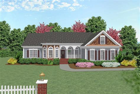 house plan improved ga architectural designs