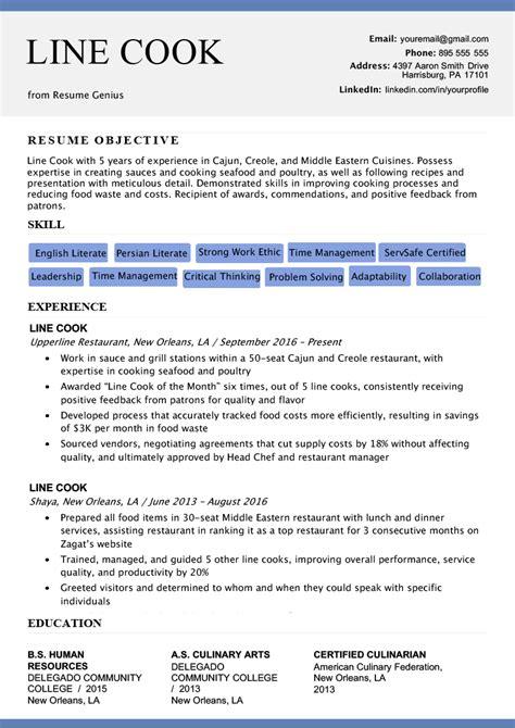 chronological resume samples writing guide rg
