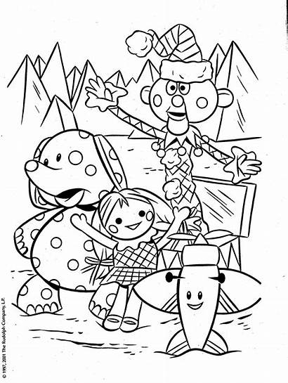 Rudolph Misfit Coloring Toys Pages Christmas Reindeer