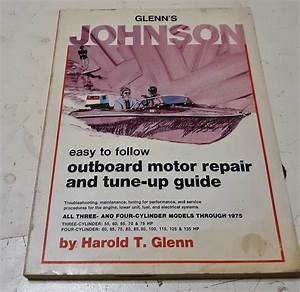Johnson Outboard Motor Repair And Tune