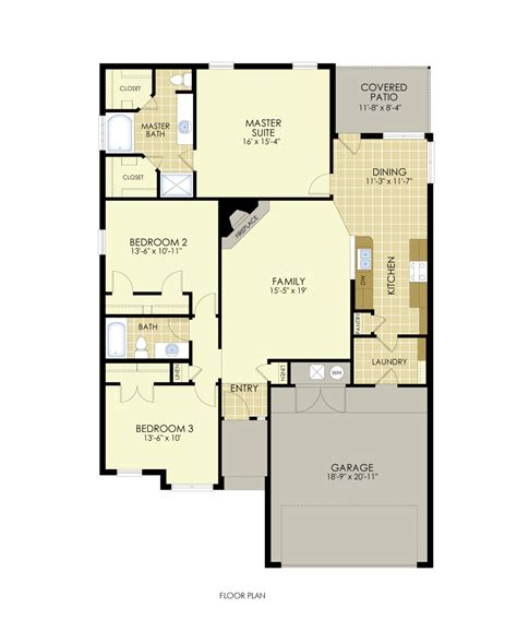 junes  popular floor plan house  home