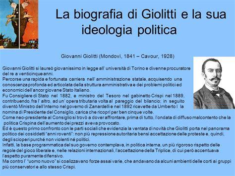 Politica Interna Giolitti by Tesina Quot Giolitti Quot Ppt Scaricare