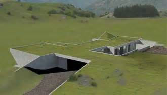green homes plans invisible set of green homes to be underground