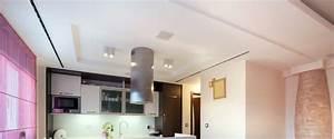 Eclairage Plafond Cuisine : eclairage faux plafond cuisine spot encastrable led 10 ~ Edinachiropracticcenter.com Idées de Décoration