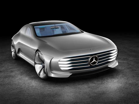 The front is characterized by a fascia that seamlessly combines led headlights with the faux intake grille made of carbon fiber. 2015, Mercedes, Benz, Concept, Iaa, Supercar Wallpapers HD / Desktop and Mobile Backgrounds