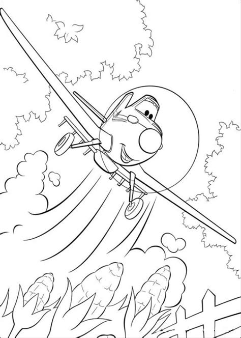 planes coloring pages    print