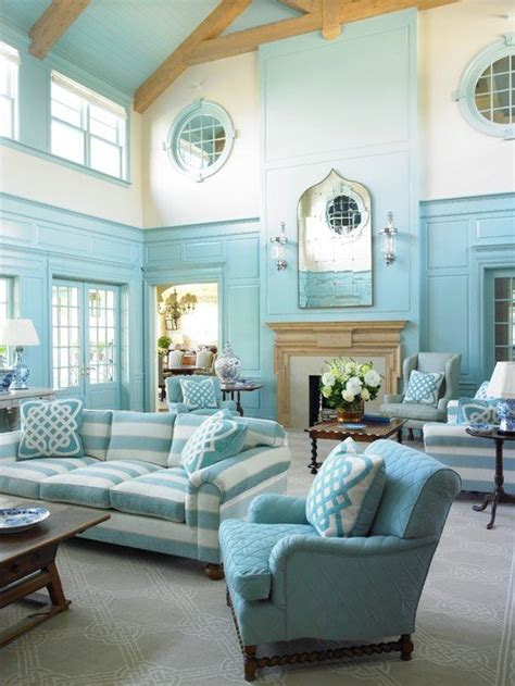 southampton blue charming home  town country living