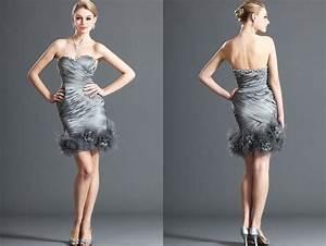 17 best images about design mode femme robes on for Robe courte mariage avec bijoux cristal