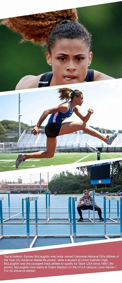 Mclaughlin Sydney Nj Track Olympic Athlete Advance