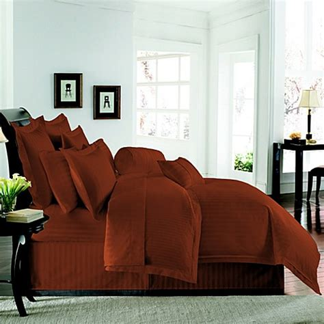 rust colored duvet cover buy wamsutta duvet covers from bed bath beyond