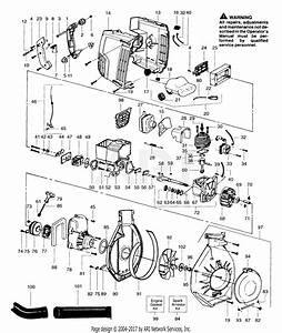 Poulan 180sb Twister Gas Blower Parts Diagram For Blower