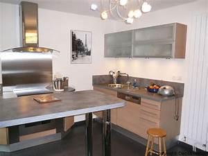 Deco cuisine chene clair for Idee deco cuisine avec meuble salle a manger chene clair