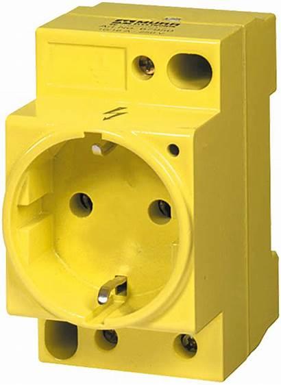 Socket Yellow Vde Power Murrelektronik Differ