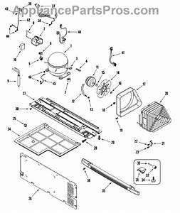 Parts For Amana Atb1504ars  Compressor Parts