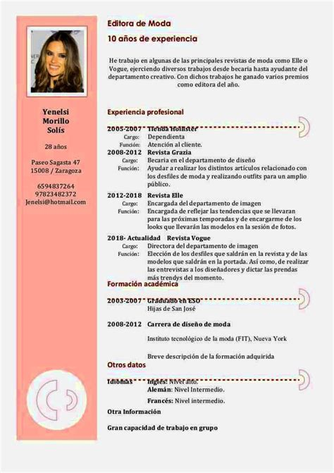 Mod7le Cv Word by Curriculum Vitae Formato Word Resume Template Cover
