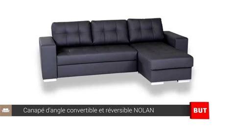 canapé convertible but canape d angle convertible et r 233 versible nolan but