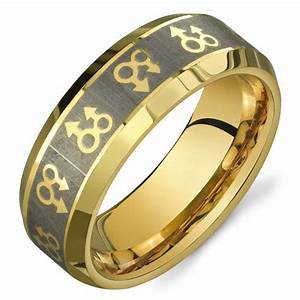 pride shack gold mars male symbols ring mens gay pride With mens gay wedding rings