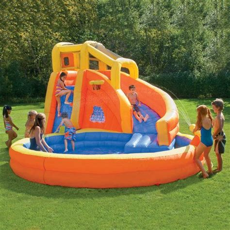Best Backyard Water Slides by 17 Best Images About Backyard Water Park On