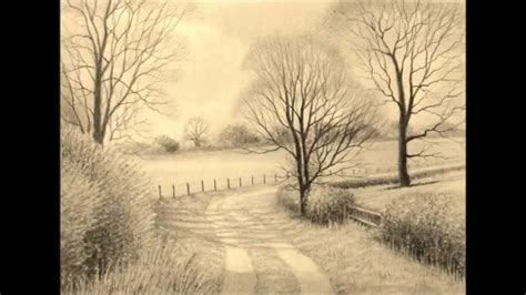 landscaping drawings pencil drawings graphite pencil drawings of landscapes