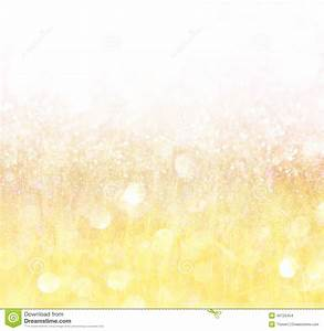 White Silver And Gold Abstract Bokeh Lights Stock Photo ...