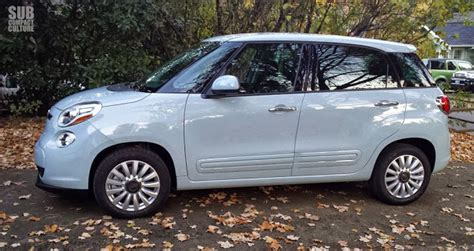 2014 Fiat 500l Easy by In The Driveway 2014 Fiat 500l Easy Subcompact Culture