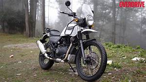 Royal Enfield Himalayan - Quick Review by Overdrive - YouTube
