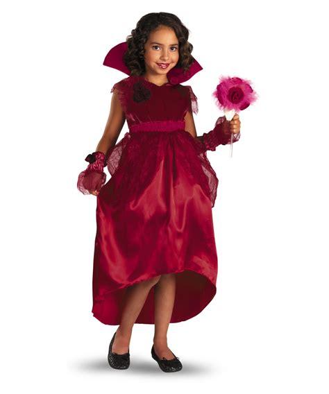 RED ROSE VAMPIRE GIRL COSTUME