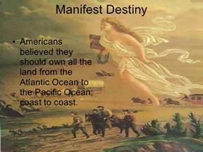 Manifest Destiny Westward Expansion Painting