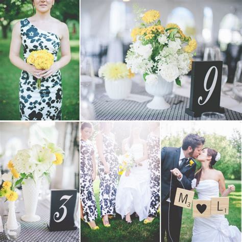 A Sophisticated And Bright Wedding Color Palette