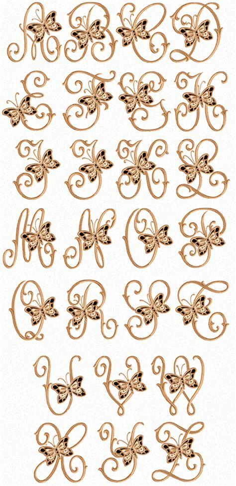 abc designs cutwork butterflies machine embroidery font   hoop ebay