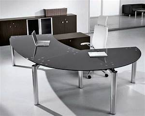 Maintaining Glass Office Desk Furniture Beauty Of Modern Glass Top Desk