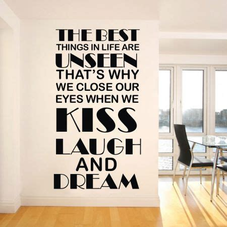 Warm English Word Pattern Wall Stickers  Crazy Sales