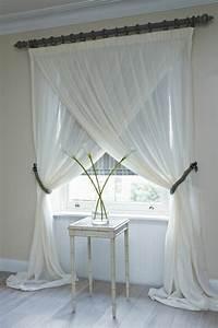 Rideau Court Fenetre : le rideau voilage dans 41 photos ~ Teatrodelosmanantiales.com Idées de Décoration