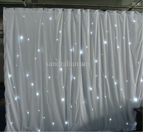 white backdrop with lights top quality 8x3m smd5050 white led curtain lights backdrop