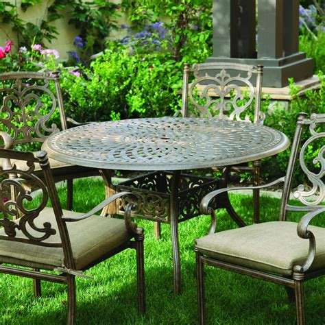 darlee santa barbara patio furniture darlee santa barbara 4 person cast aluminum patio dining