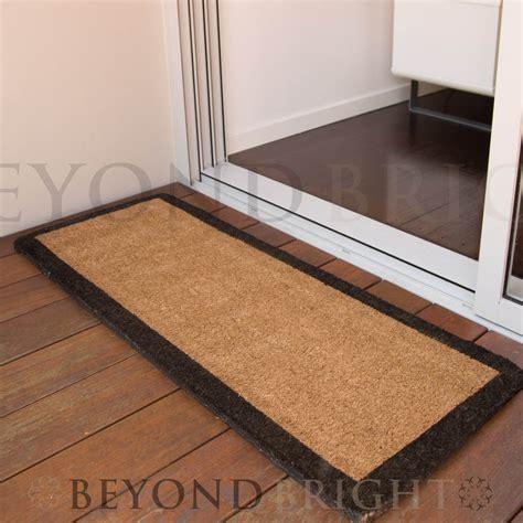 doormat for doors honey coir door mat 45 x 120cm
