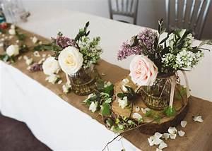 deco mariage champetre a faire soi meme deco mariage With chambre bébé design avec bouquet de fleurs mariage pas cher