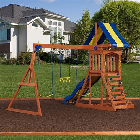 backyard swing set providence wooden swing set playsets backyard discovery