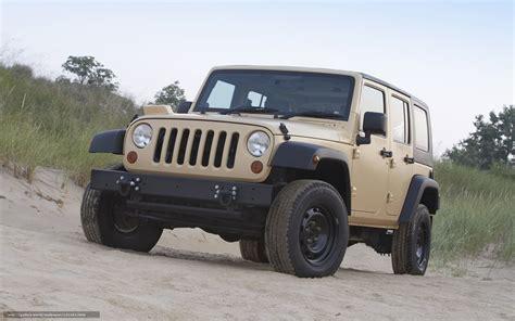 Download Wallpaper Jeep, Wrangler, Car, Machinery Free