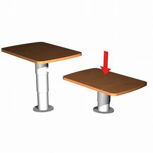 Pied De Table Telescopique : pied de table t lescopique v rin gaz pour camping car et ~ Dailycaller-alerts.com Idées de Décoration