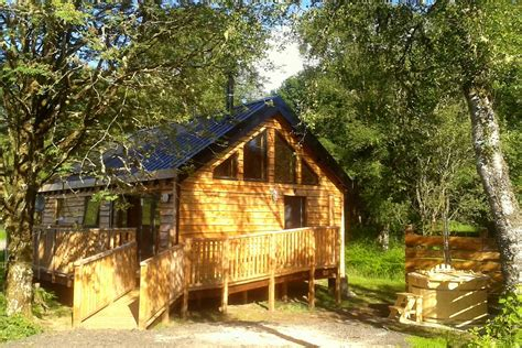 bluebell log cabin loch aweside forest cabins