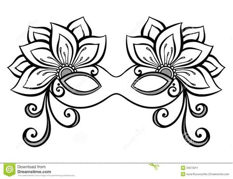 Masquerade Mask Template For Adults by Best 25 Mask Template Ideas On