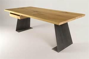 Schreibtisch Massivholz Eiche : eckschreibtisch modern ~ Whattoseeinmadrid.com Haus und Dekorationen